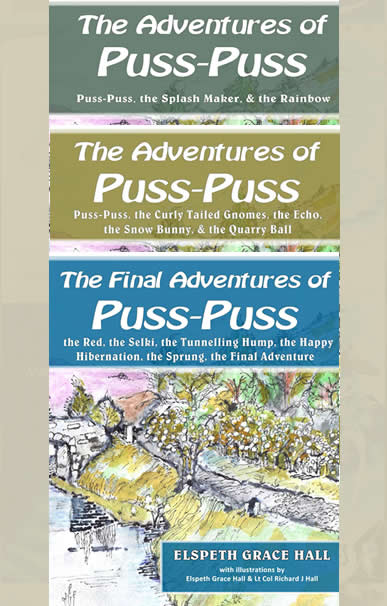 The Adventures of Puss Puss - Volumes 1, 2 and 3